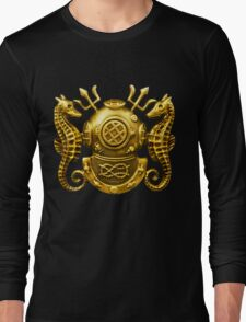 Deep Sea Diving Badge Long Sleeve T-Shirt