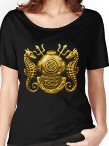 Deep Sea Diving Badge Women's Relaxed Fit T-Shirt
