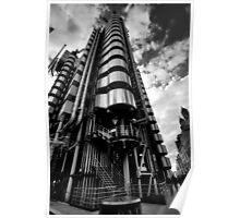 Lloyd's of London in Monochrome Poster