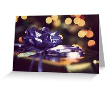 Christmas Glow Greeting Card