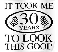 Funny 30th Birthday Poster