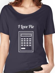 Calculator: I Love Pie Women's Relaxed Fit T-Shirt