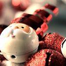 Santa's Wreath by powerpig