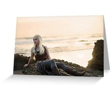 I am a Khaleesi Greeting Card