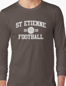 St Etienne Football Athletic College Style 2 Color Long Sleeve T-Shirt