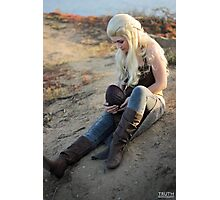 I am the blood of the dragon Photographic Print
