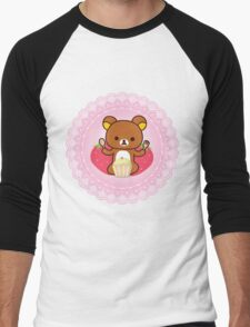 Cupcake Time! Men's Baseball ¾ T-Shirt