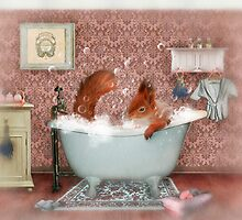 Miss Suzy Takes a Bath by Aimee Stewart
