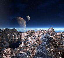Moon View Ridge by blacknight