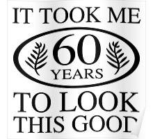 Funny 60th Birthday Poster