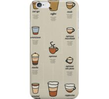 A Coffee Guide iPhone Case/Skin