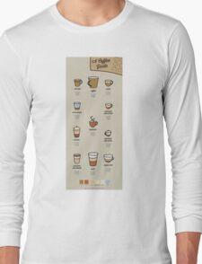 A Coffee Guide Long Sleeve T-Shirt