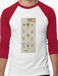 A Coffee Guide Men's Baseball ¾ T-Shirt