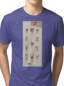 A Coffee Guide Tri-blend T-Shirt