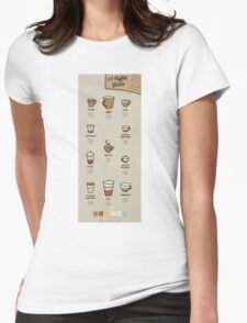 A Coffee Guide Womens Fitted T-Shirt