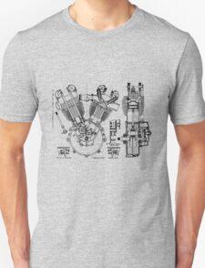 1924 J.A.P. v twin engine T-Shirt etc..... T-Shirt