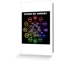 Comedy Chart Greeting Card