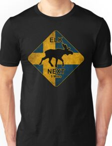 Swedish elk Unisex T-Shirt