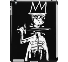 King Cut WHT iPad Case/Skin