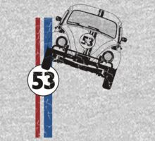 VW Herbie 53 One Piece - Long Sleeve