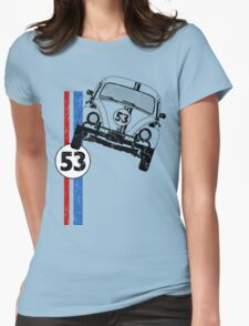 VW Herbie 53 Womens Fitted T-Shirt