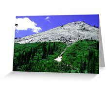 Beehive Mountain Greeting Card