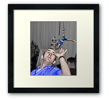 The First Touch...... Framed Print