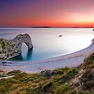 Durdle Door Sunset by EwanHitchcoe