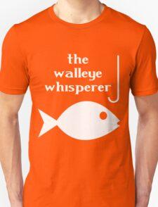 Walleye whisperer fishing geek funny nerd T-Shirt