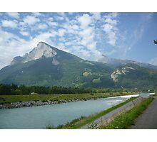 a stunning Liechtenstein landscape Photographic Print