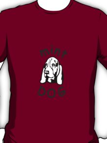 Mint Dog Basset Hound T-Shirt