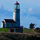 Cape Blanco Lighthouse, Port Orford, Oregon by Bryan D. Spellman