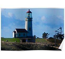 Cape Blanco Lighthouse, Port Orford, Oregon Poster