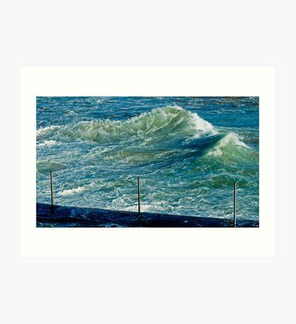 maré....tide Art Print