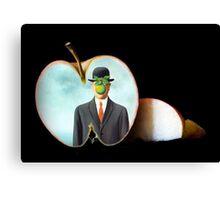 The Apple/René Magritte Canvas Print