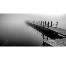 Foggy Outlook Photographic Print