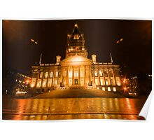 Bolton Town Hall Poster