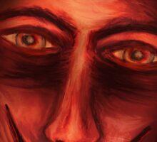 Red Untitled Sticker