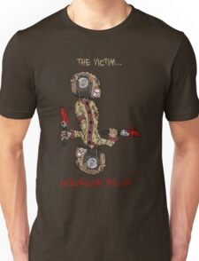 professor wimbly: the victim... or the murderer? (flip edition) Unisex T-Shirt