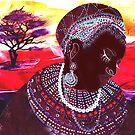 Masai Bride by Tezz