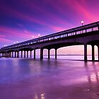 Boscombe Pier Sunset by EwanHitchcoe