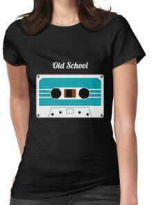Retro Cassette Tape -  Womens Fitted T-Shirt