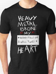 Fall Out Boy Centuries - Heavy Metal Broke My Heart Unisex T-Shirt