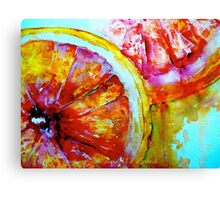 Juicy Stuff Canvas Print
