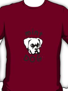 Mint Dog Boxer T-Shirt
