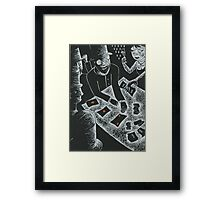 Joseph Weil and the Faro Bank Con Framed Print