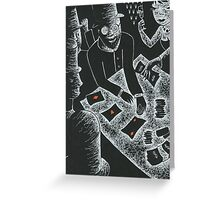 Joseph Weil and the Faro Bank Con Greeting Card