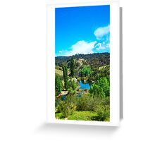 Molonglo Gorge - Trekking the gorge 10 Greeting Card