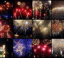 FireWorks Show by sstarlightss