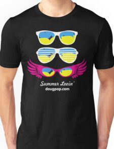 Summer Lovin' - Black Shirt Unisex T-Shirt